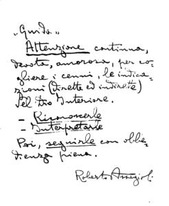 manoscrittoMeditazione